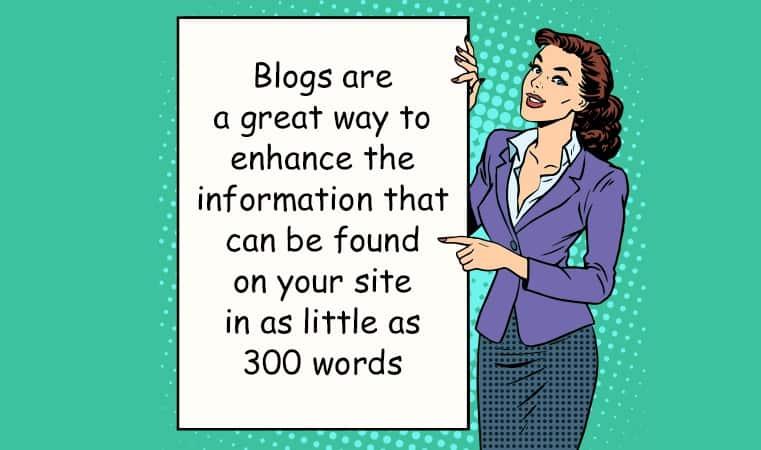 Enhance information tip for blog