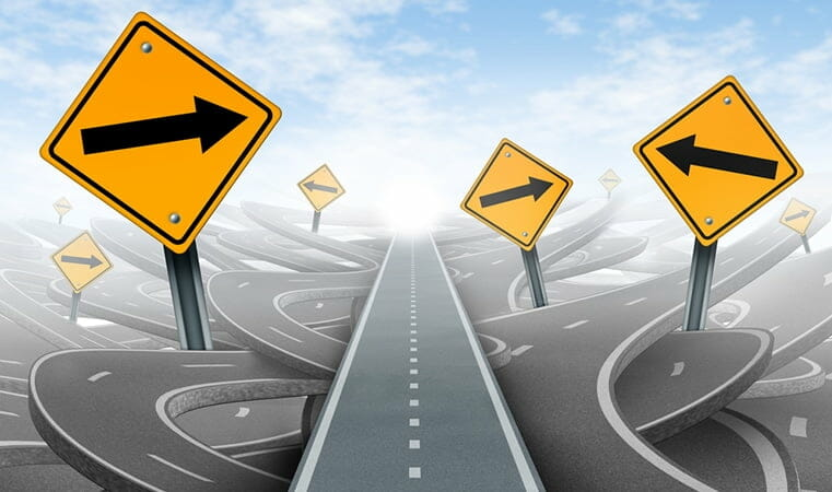 Improve Website Performance - Road Signs
