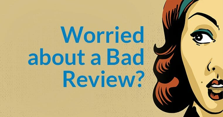 Worried about a bad online review