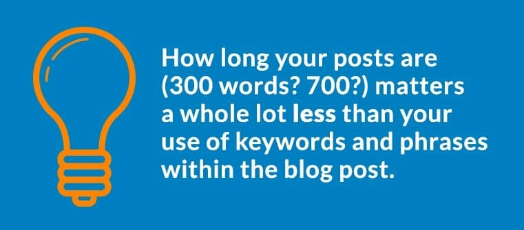 Business Blog SEO - Featured Image